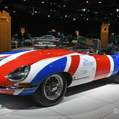 98ste Brussels Motor Show - Dreamcars Jaguar E-type