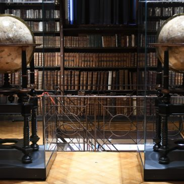 Nottebohmzaal in de ergoedbibliotheek Hendrik Conscience te Antwerpen