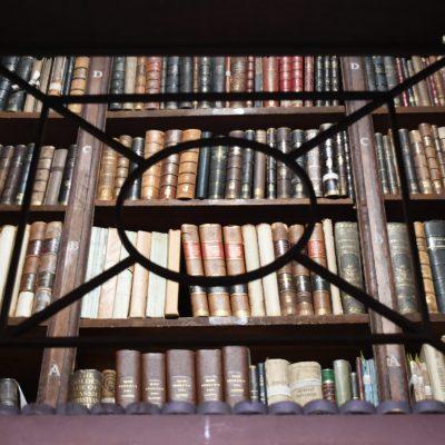 Nottebohmzaal in de erfgoedbibliotheek Hendrik Conscience te Antwerpen