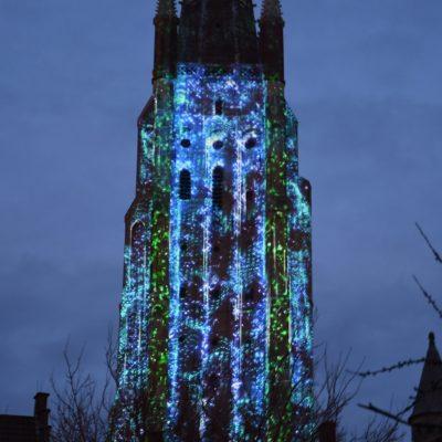 Wintergloed Brugge