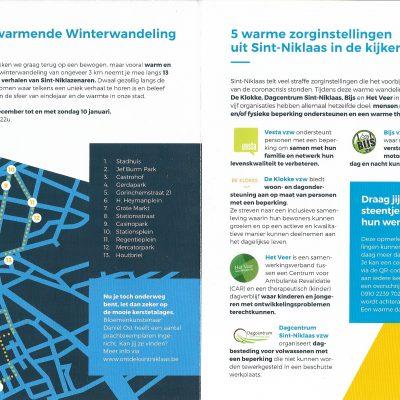 Hartverwarmende winterwandeling Sint-Niklaas